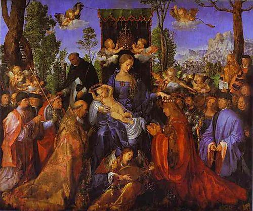 Durer_The Altarpiece of the Rose Gardens