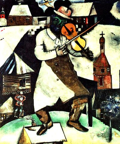 Fiddler marc chagall