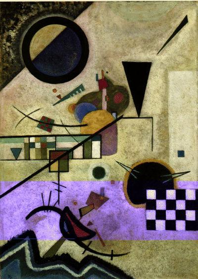 Kandinsky contrasting accompaniment