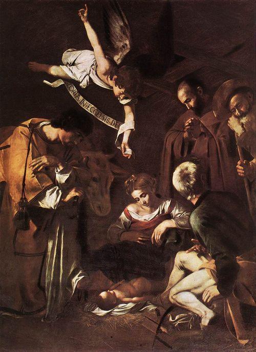 Caravaggio nativity