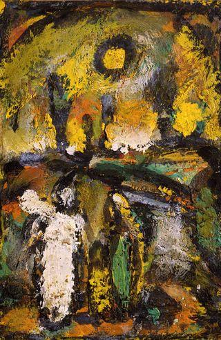 Rouault_Biblical_Landscape_oil_9.25_x_6