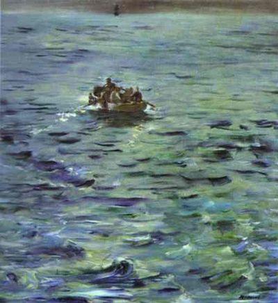 Manet, Escape of Rocherfort 1881