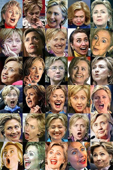 Hillaryfaces