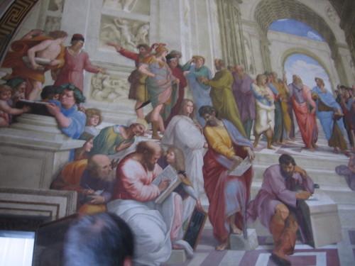 School of Athens Raphael 3